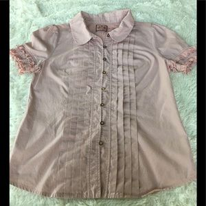 Blush Juicy Couture Button Down